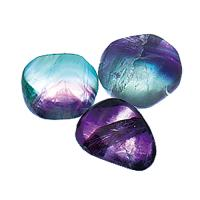 Fluorite (green, purple, blue)